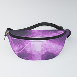 Confucian symbol. Chinese philosophy. Abstract night sky background. Fanny Pack
