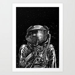 The Secrets of Space Art Print