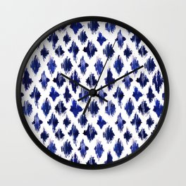 Shaking ultramarine Wall Clock