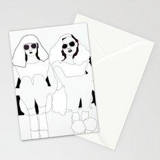 Sitting Around Stationery Cards