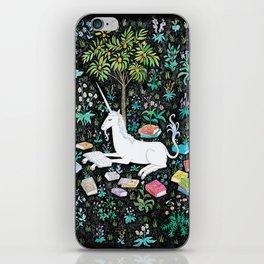 The Unicorn is Reading iPhone Skin