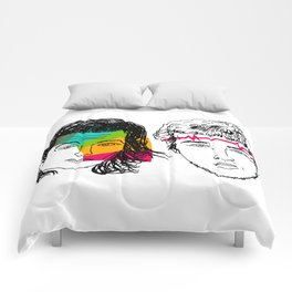 Daft Punk portrait Comforters