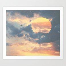 SUN SPOT Art Print