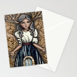 deer Woman Stationery Cards
