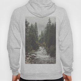 Mountain creek - Landscape and Nature Photography Hoody
