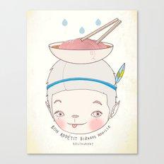 맛! Bon appetit bizarre nouille restaurant ! Canvas Print