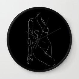 Single Nude Night Wall Clock