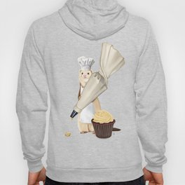 Ferret and Frosting Hoody