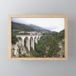 Bridge in Eze Framed Mini Art Print