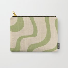 Abstract Minimal Pattern, Retro, Chic  Carry-All Pouch