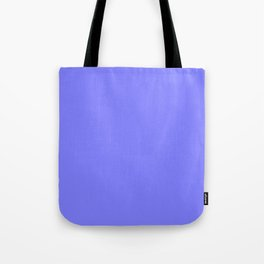 Periwinkle Solid Color Tote Bag