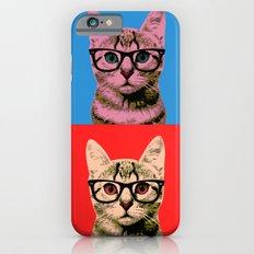 Cat in Four Colors iPhone 6 Slim Case