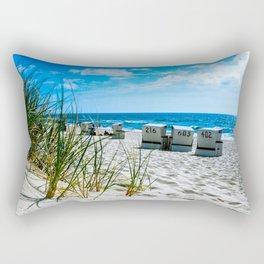 behind the dunes Rectangular Pillow