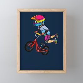 Got Balance Framed Mini Art Print