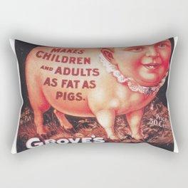 Grove's Tasteless Tonic Rectangular Pillow