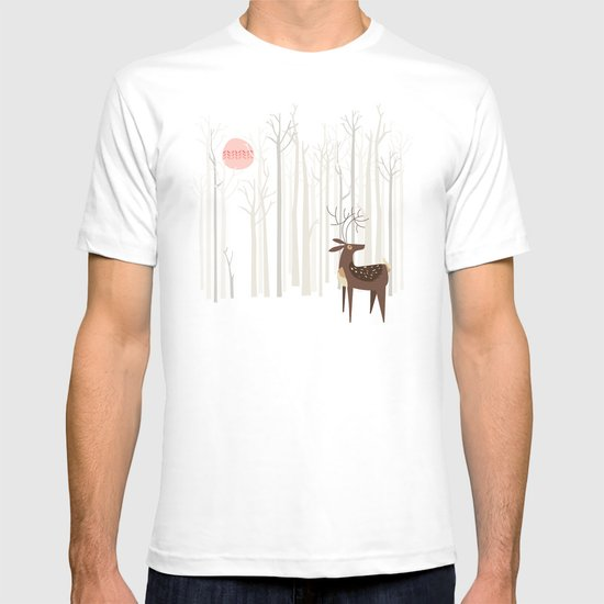 Reindeer of the Silver Wood T-shirt