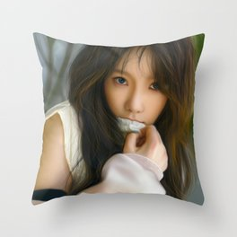 Cover Up Throw Pillow