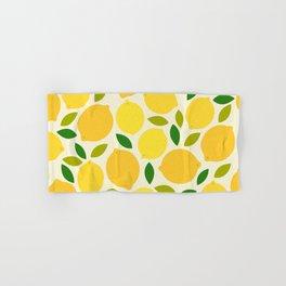 Lemon Hand & Bath Towel