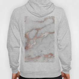 Rose Gold Marble Hoody