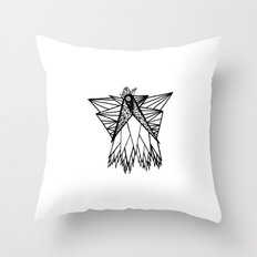 From the Sky Throw Pillow