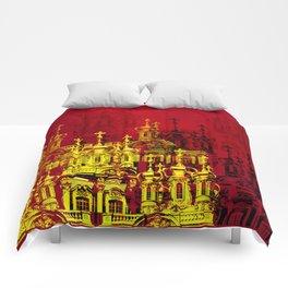 Golden Domes Comforters