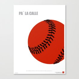 CUBA: Pa' la Calle (Hit the Streets) Canvas Print