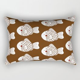 Fish Cake Rectangular Pillow