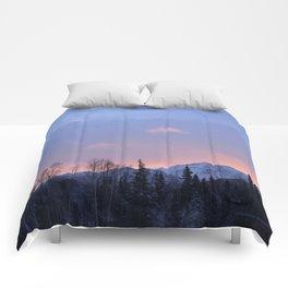 Chugach Mts Serenity Sunrise - II Comforters