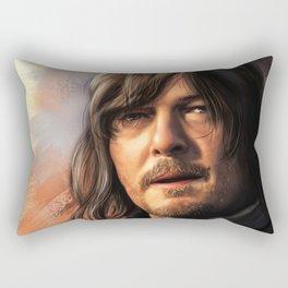 Norman Reedus. Daryl Dixon Rectangular Pillow