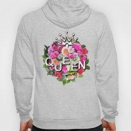 Queen Floral Bouquet Hoody