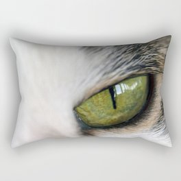 The Eye of the Domesticated Tyger Rectangular Pillow