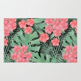 Tropical pattern.5 Rug