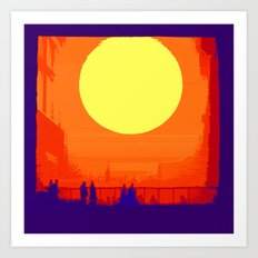 Nothing is new under the sun Art Print