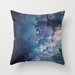 Iced Galaxy Throw Pillow