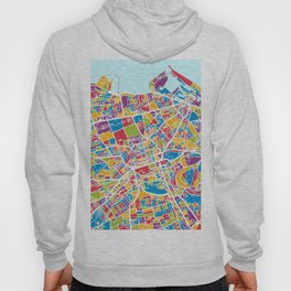 Edinburgh Street Map Hoody