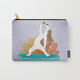 Basset Hound Peaceful Warrior Carry-All Pouch