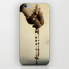 Contemplation iPhone & iPod Skin