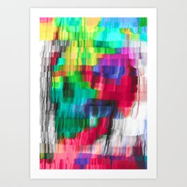 my vertice are you Art Print