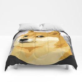 Doge to the Moon! Comforters