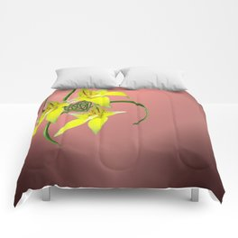 Cowslip Orchid Love Celtic Knotwork Heart Comforters