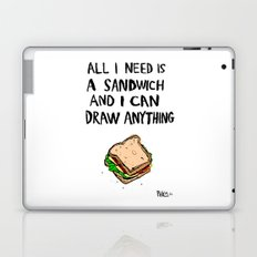 All I Need Is A Sandwich Laptop & iPad Skin