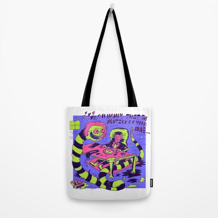 Beetle Juice x Dorthy Moore Tote Bag