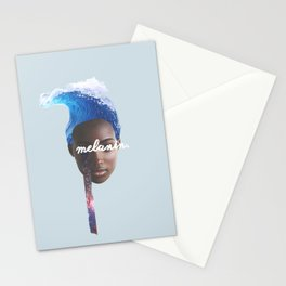 Melanin // Dark Matter Stationery Cards