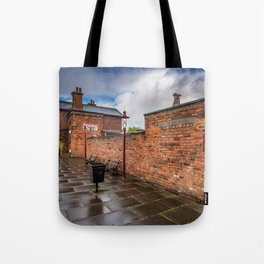 Hadlow Victorian Railway Station Tote Bag