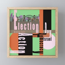Election Day 6 Framed Mini Art Print