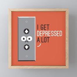 Feeling Down Framed Mini Art Print