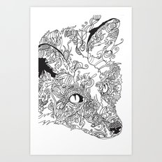 Her Complicated Nature I Art Print