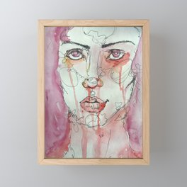 Strength in Passion Framed Mini Art Print