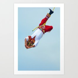 Flying artist collection _05 Art Print