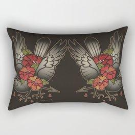 'til I'm Numb Rectangular Pillow